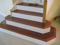 install bamboo stair treads the wooden houses