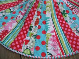 vintage tree skirt shiny brite