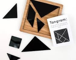 tangram puzzle tangram puzzle etsy
