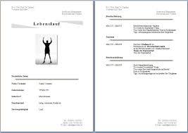 Lebenslauf Vorlage Gratis Kostenlose Lebenslaufvorlagen Zum Herunterladen Office Lernen