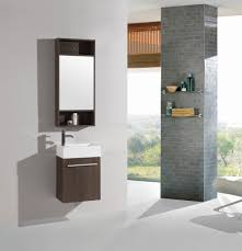 18 In Bathroom Vanity Cabinet by 18 Inch Belvedere Modern Wall Mounted Espresso Bathroom Vanity