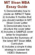 mba application tips