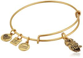 gold bangle bracelet design images Alex and ani charity by design ode to the owl jpg