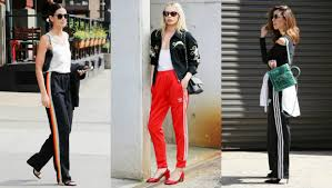 style ideas 10 street style photos to show you chic ways to wear track pants