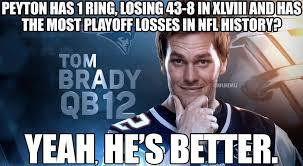 Tom Brady Funny Meme - best 26 peyton manning tom brady meme testing testing