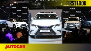 lexus lx450 reliability lexus launched in india first look autocar india youtube
