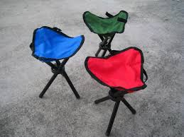 2pcs outdoor chair portable aluminium alloy chair foldable