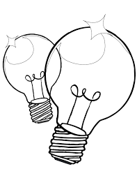 christmas light bulb coloring page clipart panda free clipart