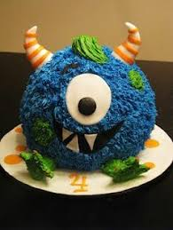 my little monster 2nd birthday cake monsters birthday cakes and