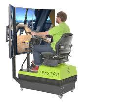 tenstar simulation exhibiting new multi machine simulation