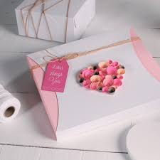 romantic gift wrapping ideas pizza box love message valentine u0027s