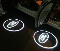 range rover welcome light 2pcs lot led car door welcome projector logo laser shadow light for