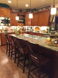 Decorating A Bakers Rack The Tuscan Home New Chandelier Decorated For Fall
