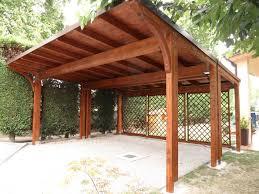 preventivo tettoia in legno tettoia in legno permesso di costruire o comunicazione inizio