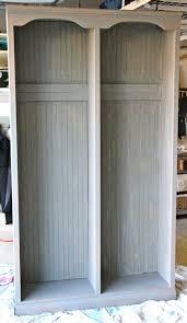 imeeshu com u2014 restoration hardware locker knock off wood finish