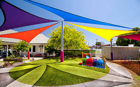 Backyard Canopy Covers Playground Sail Shades Outdoor Learning Space Pinterest Sail