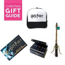 christmas gift and present ideas for harry potter fans including