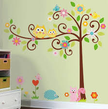 Owl Wall Decals Nursery by Tree Wall Decal For Interior Decoration U2014 Wedgelog Design