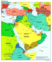 Asia Blank Map North Africa Southwest Asia Blank Map Image Gallery For Central