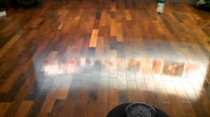 Quick Shine Floor Finish Remover by Polishing Wax On A Wood Floor Youtube