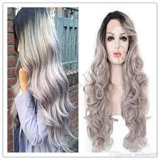 is long island medium hair a wig full lace human ombre grey hair wigs silver grey hair malaysian