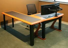 best desk for dual monitors dual monitor computer desk dual monitor computer desk top arm with