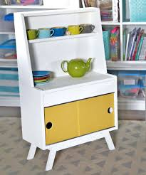 Free Plans For Wooden Toy Boxes by Big Wooden Toy Box Diy Retro Play Kitchen Dish Hutch For Kids Free