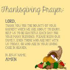 thanksgiving prayers religious thanksgiving blessings