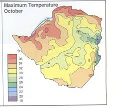 World Temperature Map October by Module Thirty Activity One Exploring Africa