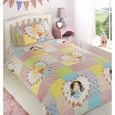 girls pink bedding unicorn girls double quilt duvet cover and 2 pillowcase bedding