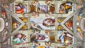 Images Female Anatomy Sistine Chapel Art Hides Secret Female Anatomy Symbols Claims New