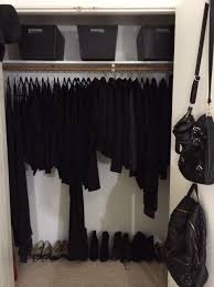 Clothes Closet Black Is A Disease You Can Never Get Rid Off I Might Say Overly