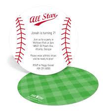 baseball birthday invitation wording alanarasbach com