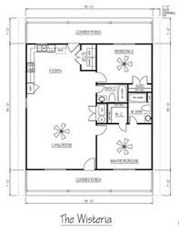 Metal Building Floor Plans I Like The Open Floor Plan But It Would Need Another Bedroom And A