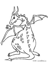 dragon wings coloring pages hellokids