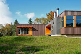modern prefab cabin pretty fab prefabs living efficiently in a luxury home cottage
