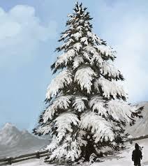 snow tree study by jimpaw on deviantart