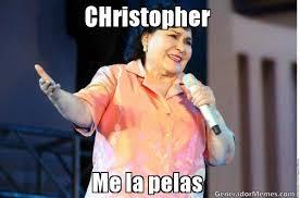 Christopher Meme - christopher me la pelas meme de diganle imagenes memes