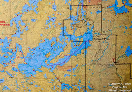 Bwca Map Base Camp Routes Clearwater Outfitters