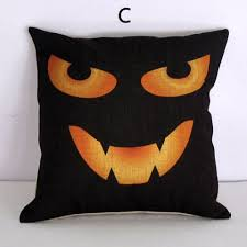 halloween pillows for couch horror haunted house sofa cushion