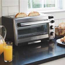 Toaster Oven With Auto Slide Out Rack Hamilton Beach 2 In 1 Oven And Toaster 31156