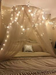 bed canopy with lights 7 dreamy diy bedroom canopies icicle lights diy bedroom and canopy