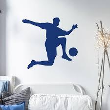 footballer wall art stickers by nutmeg notonthehighstreet com footballer wall art stickers