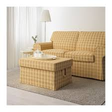 Yellow Storage Ottoman Ektorp Ottoman Lofallet Beige Ikea