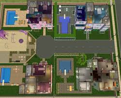 mod the sims residential cul de sac no cc