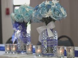 beautiful blue and white wedding centerpieces pictures styles