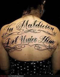 large lettering tattoos backpiece tattoo love