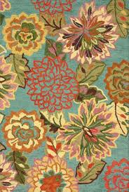 flower area rugs bluebrown floral tufted area rug 4 round rug mandala rug floral