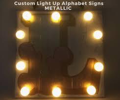 custom light up signs metallic custom light up signs tango twist
