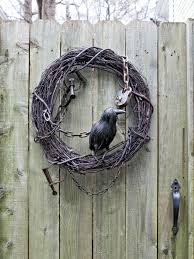 Halloween Door Wreath by Remarkable Outdoor Home Design Ideas Contains Admirable Halloween